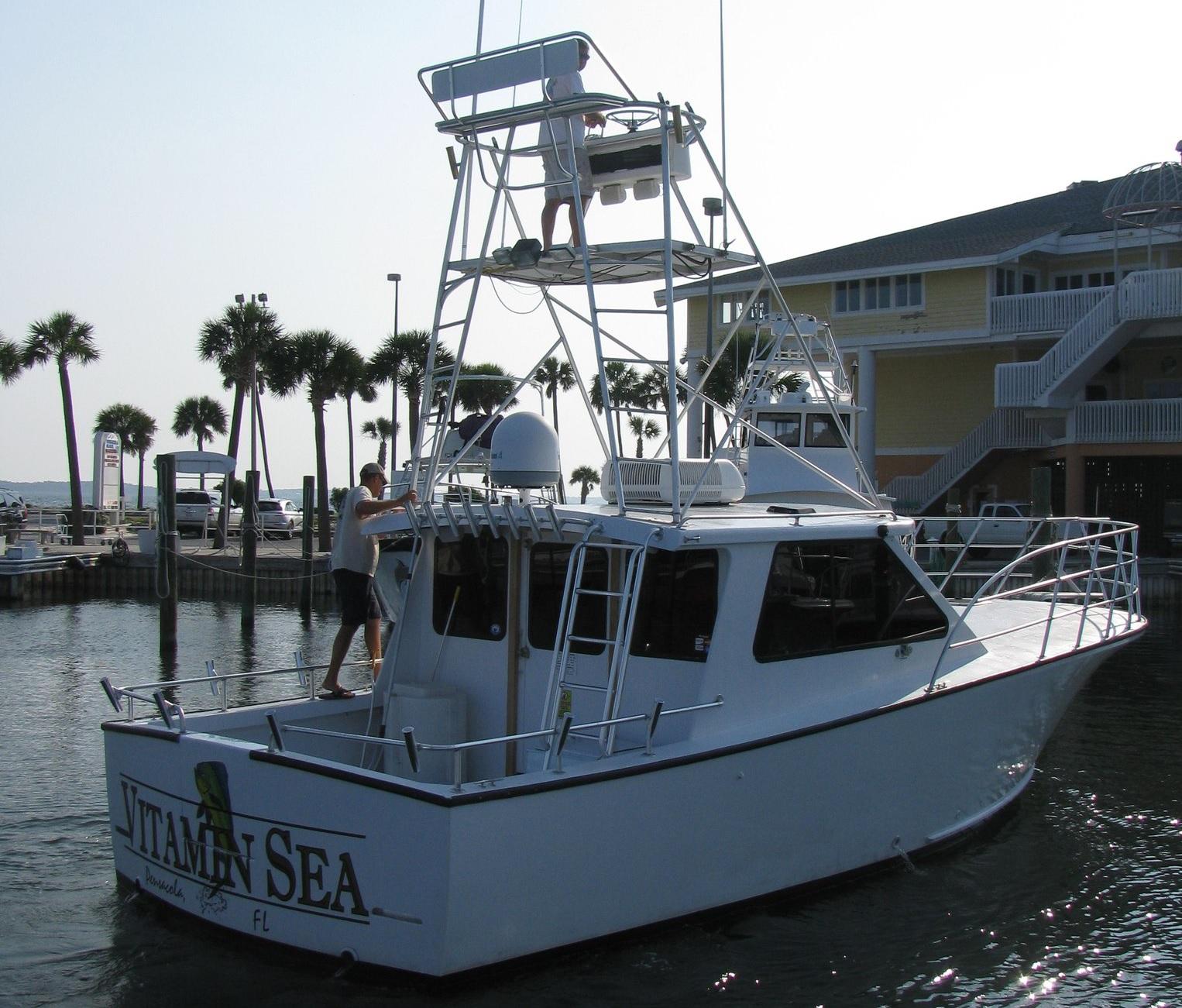 Vitamin sea pensacola fishing for Pensacola deep sea fishing
