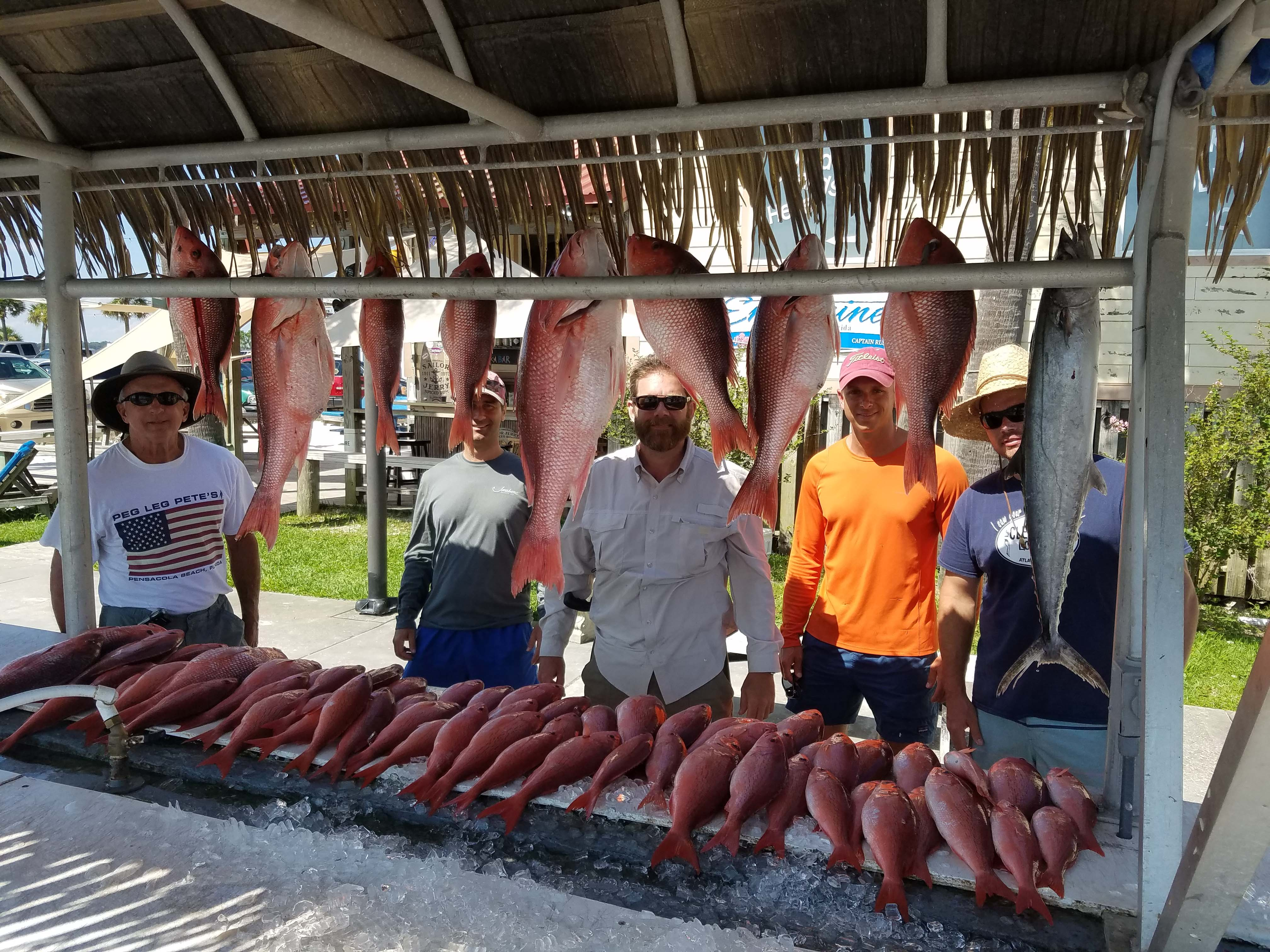 Pensacola Fishing Report 8/3/17